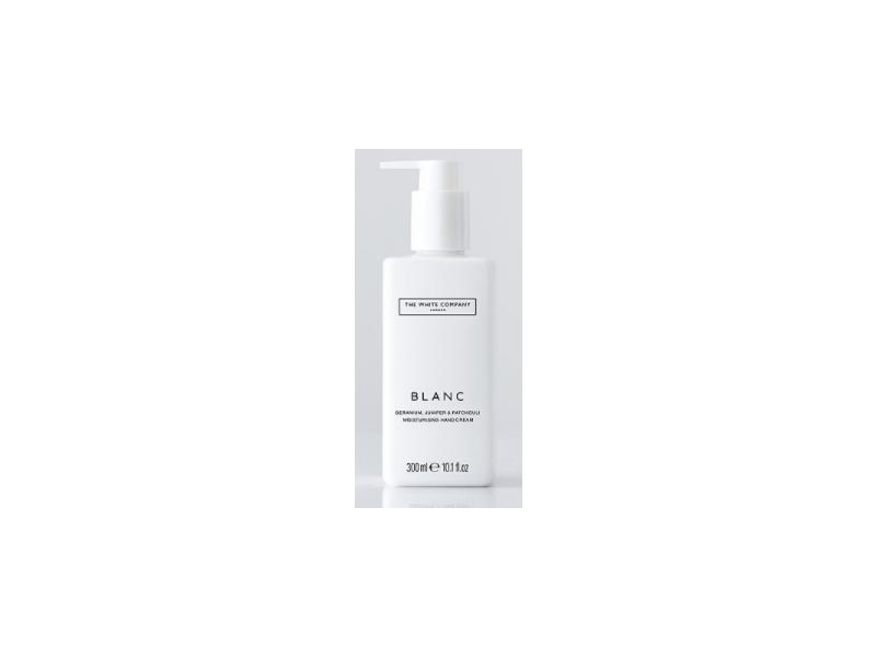 The White Company Blanc Moisturising Hand Cream, 10.1 fl oz/300 mL