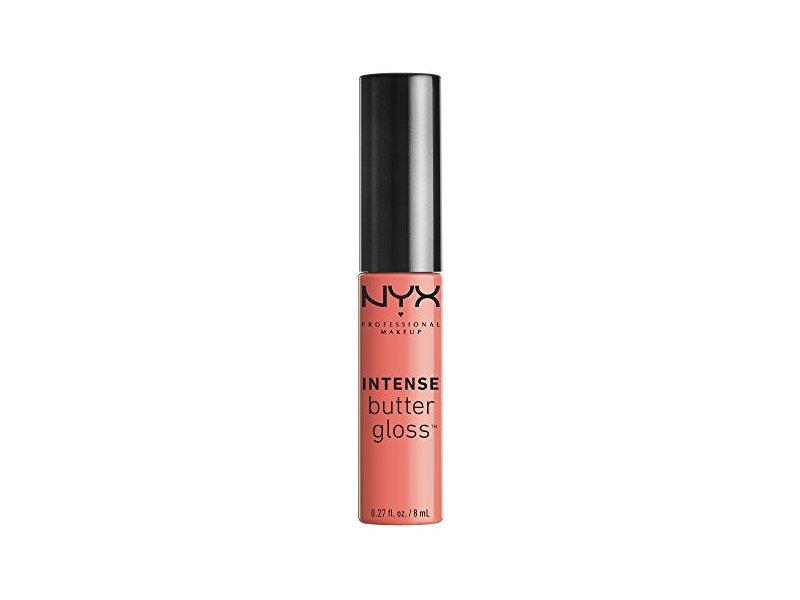 Nyx Proffessional Makeup Intense Butter Gloss, Sorbet, 0.27 fl oz/8 mL