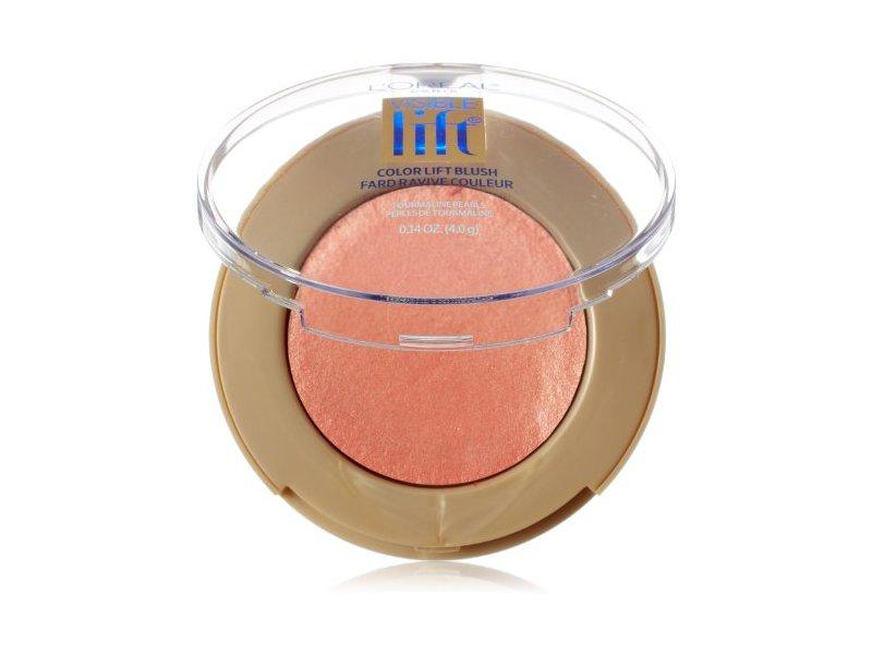 L'Oréal Paris Visible Lift Color Lift Blush, Coral Lift, 0.14 oz.