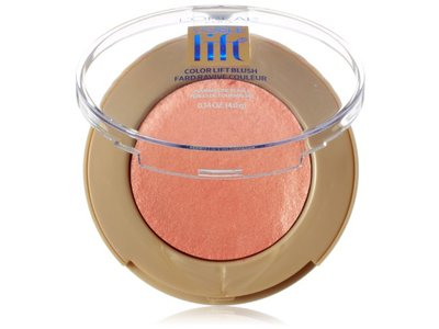 L'Oréal Paris Visible Lift Color Lift Blush, Coral Lift, 0.14 oz.