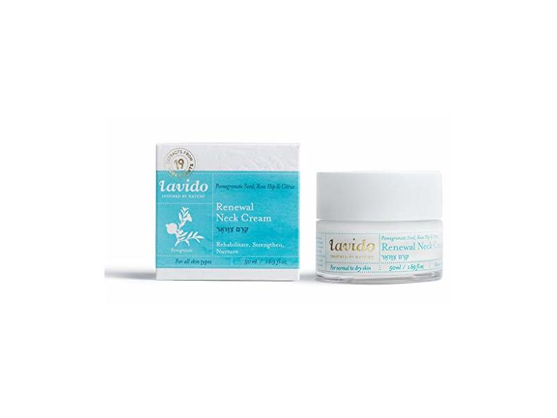 Lavido Natural Renewal Neck Cream, 1.69 fl oz