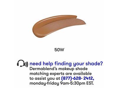 Dermablend Flawless Creator Multi-Use Liquid Foundation, 50W, 1 Fl. Oz. - Image 6