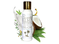 Pinnacle Hemp Moisturizing Body Lotion, Coconut Beach Dream, 4 oz - Image 2