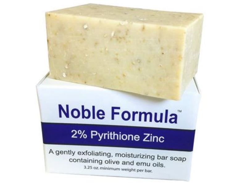 Noble Formula 2% Pyrithione Zinc Original Emu Bar Soap, 3.25 oz