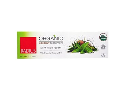 Radius Toothpaste, Mint, Aloe, Neem, 3 Oz
