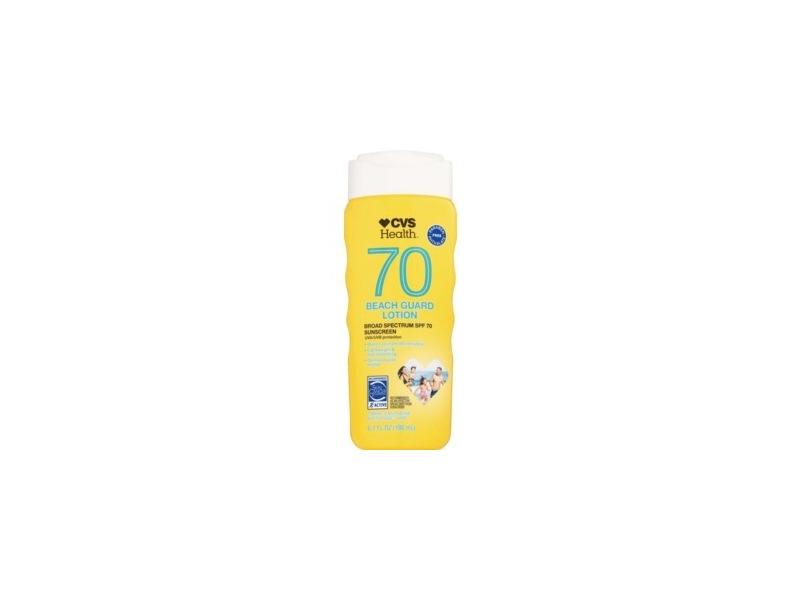 CVS Health Beach Guard Sunscreen Lotion SPF 70