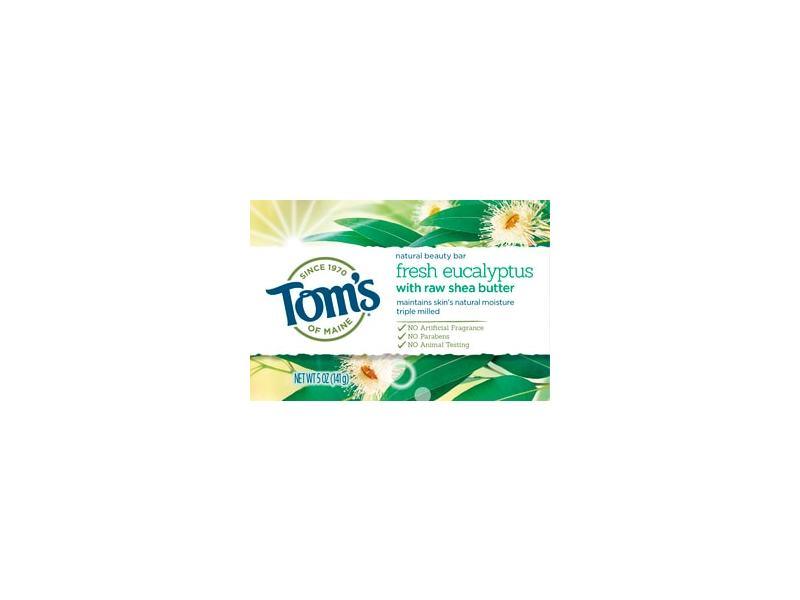Tom's of Maine Bar Soap, Fresh Eucalyptus, 5 OZ
