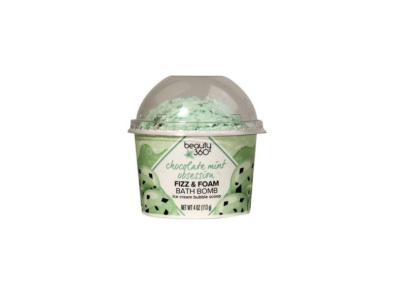 Beauty 360 Chocolate Mint Obsession Fizz & Foam Bath Bomb