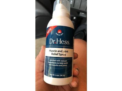 Dr Hess Muscle & Joint Relief Spray, 3.4 Ounce - Image 3