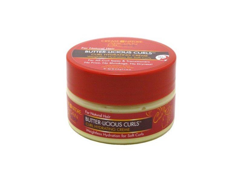 Creme Of Nature Argan Oil Butter-Vicious Curls, 7.5oz