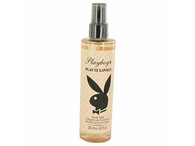Playboy Play It Lovely Body Mist Spray for Women, 8 oz