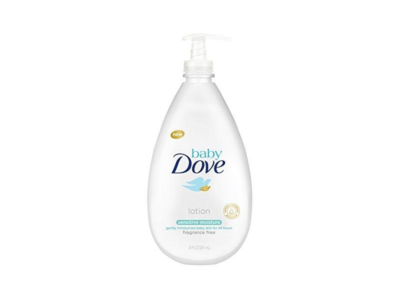 Baby Dove Lotion, Sensitive Moisture 20 oz