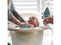 Johnson's CottonTouch Newborn Baby Wash & Shampoo, 13.6 fl. oz - Image 7
