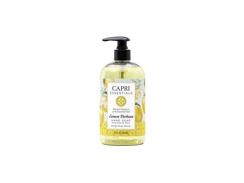 Capri Essentials Hand Soap, Lemon Verbena, 16 fl oz