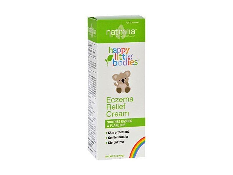 Natralia Happy Little Bodies Eczema Relief Cream - 2 oz