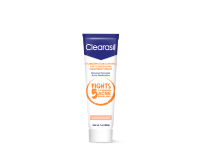Clearasil Stubborn Acne Control 5 in 1 Concealing Treatment Cream