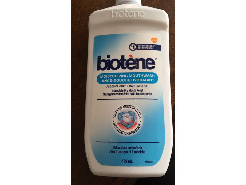 Biotene Moisturizing Mouthwash, 473 mL