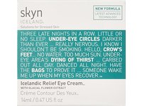 skyn ICELAND Icelandic Relief Eye Cream with Glacial Flower Extract, 0.47 fl oz - Image 4