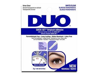 Duo Quick-Set Striplash Adhesive, White/Clear, 0.18 oz/5 g