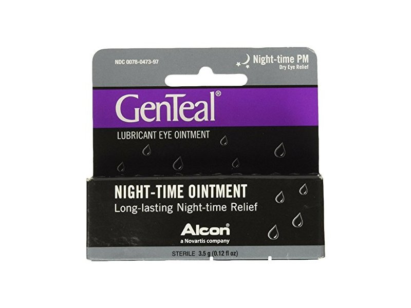 GenTeal PM Lubricant Eye Ointment, 3.50 g