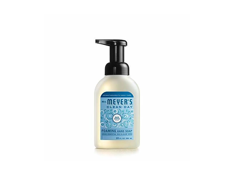 Mrs. Meyer's Clean Day Foaming Hand Soap, Rain Water Scent, 10 fl oz