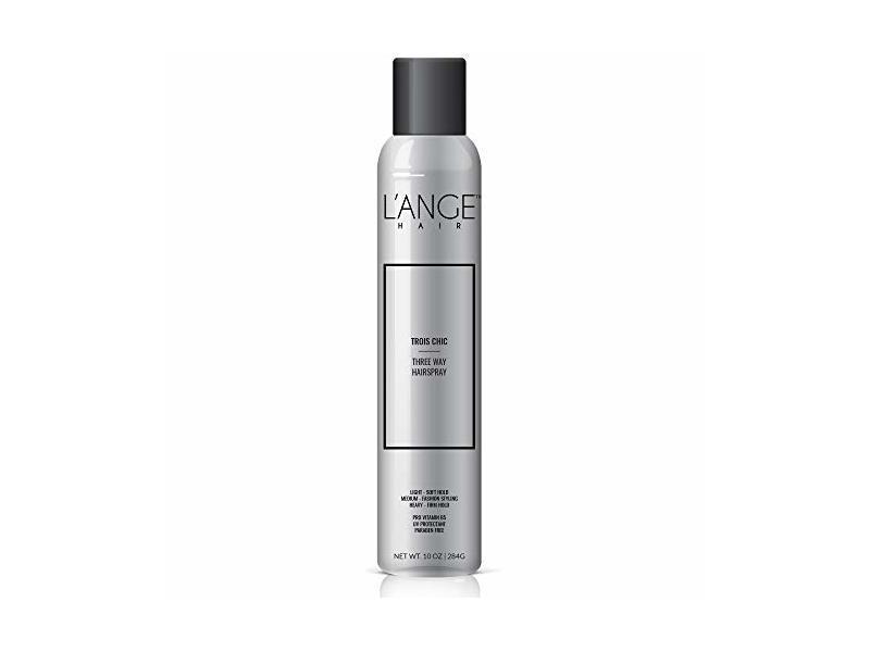 L'ange Hair TROIS CHIC Three Way Hairspray, 10 fl oz/284 g