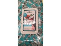 Hunny Bee Coconut Water Honey Infused Facial Wipes, 60 Wipes - Image 3