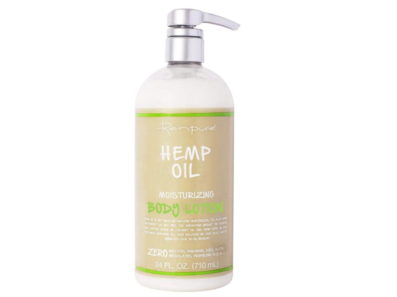 Renpure Hemp Oil Moisturizing Body Lotion, 24 fl oz / 708 mL
