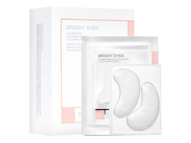 Beauty BIO Bright Eyes Illuminating Colloidal Silver And Collagen Eye Gels, 15 ct