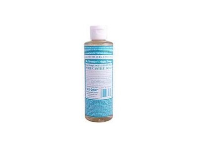 Dr. Bronner's 18-in-1 Unscented Baby-Mild Pure Castile Soap, 4 oz.