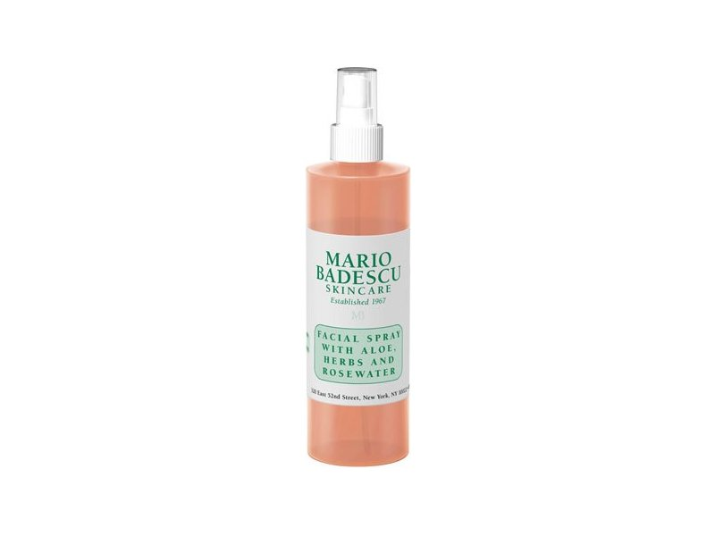 Mario Badescu Facial Spray with Aloe, Herbs and Rosewater, 8 oz.