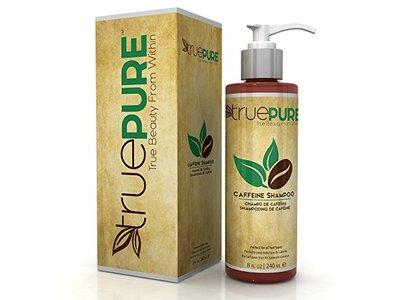 TruePure Natural Caffeine Shampoo, Fragrance Free, 8 fl oz
