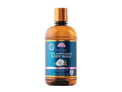 Tree Hut Shea Moisturizing Body Wash, Moroccan Rose, 17 Fluid Ounce
