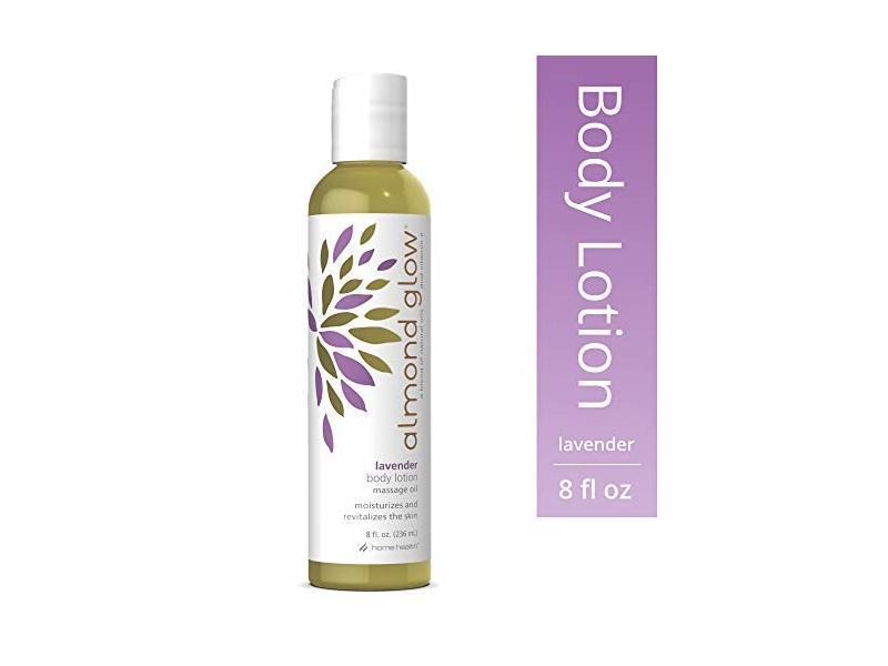 Home Health Almond Glow Lavender Skin Lotion & Massage Oil - 8 fl oz
