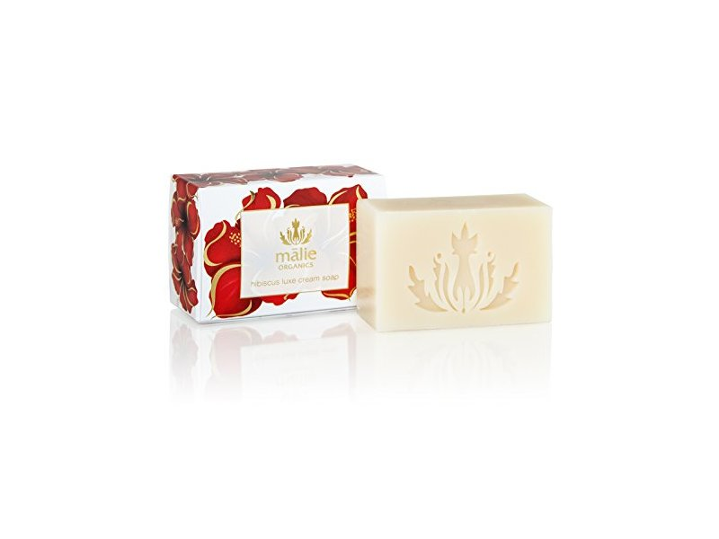 Malie Organics Luxe Cream Soap, Hibiscus