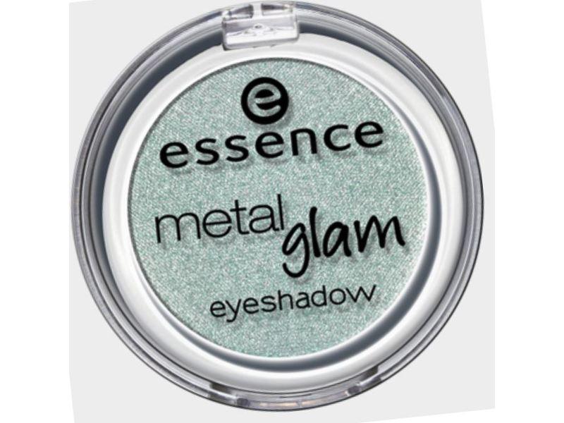 Essence Metal Glam Eyeshadow, Sugar Mint Candy, 0.09 oz