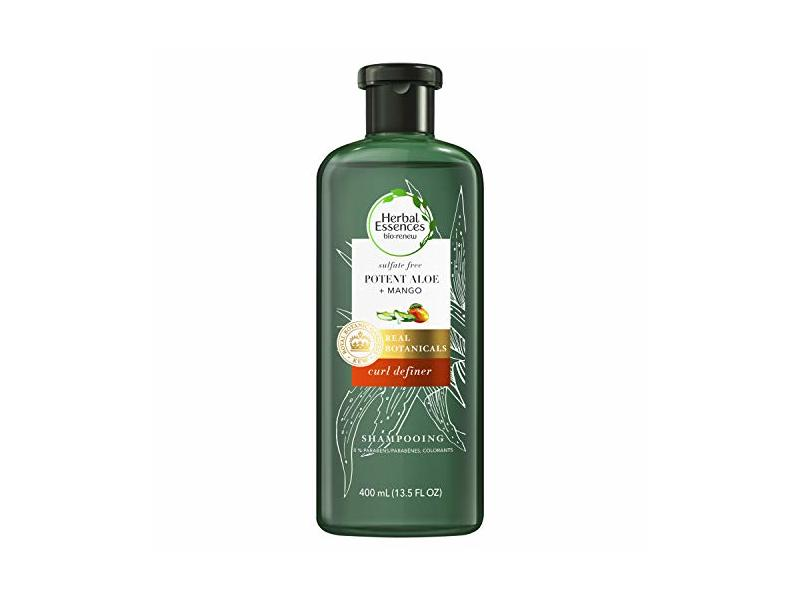 Herbal Essences bio: Renew Potent Aloe + Mango Sulfate-Free Shampoo for Curly Hair, 400 Milliliters