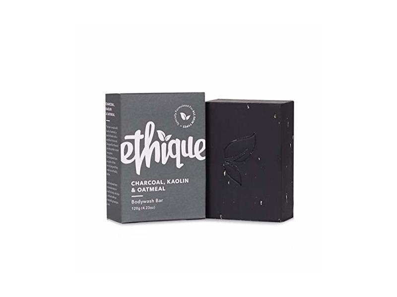 Ethique Eco-Friendly Bodywash Bar, Charcoal, Kaolin & Oatmeal, 4.23oz