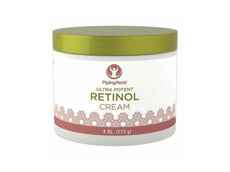 Piping Rock Retinol Cream 400,000 IU per jar, 4 Ounces