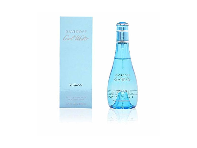 Davidoff Cool Water Fragrance for Women, Ocean Breeze and Sea-Water Scent, 100 ml