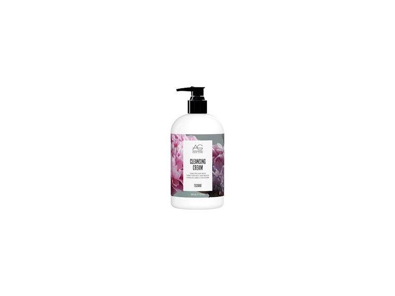 AG Hair Cleansing Cream Foam-free Hair Wash, White Citrus & Silk Rosemary Mint Menthol, 12 fl. oz..
