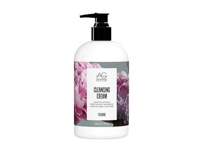 AG Hair Cleansing Cream Foam-free Hair Wash, White Citrus & Silk Rosemary Mint Menthol, 12 fl. oz..