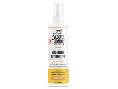 Skout's Honor Probiotic Deodorizer, Honeysuckle, 8 fl oz/236 mL