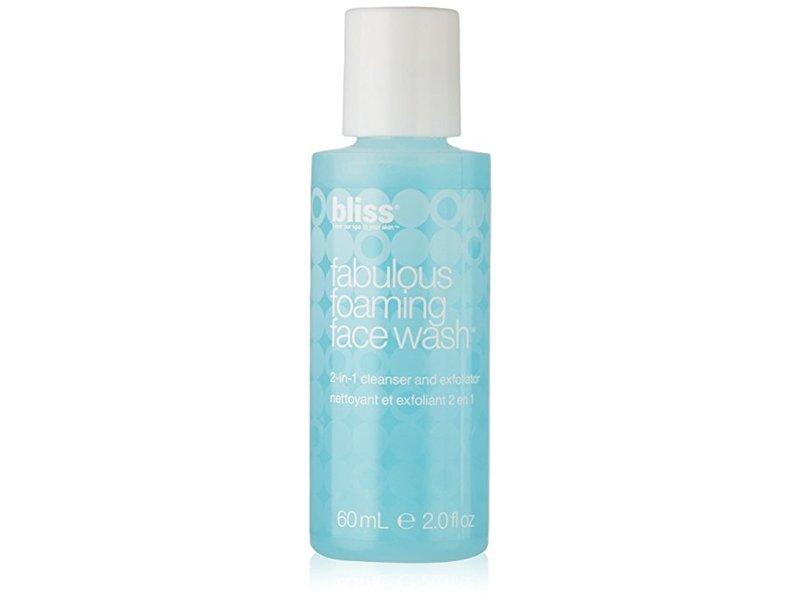 Bliss Fabulous Foaming Face Wash, Travel Size