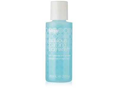 Bliss Fabulous Foaming Face Wash, Travel Size