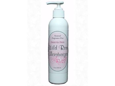 Dakota Free Fragrance-Free Wildrose Moisturizer, 8 oz