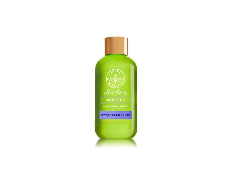 Bath & Body Works Body Oil, Acai Berry, 6 fl oz