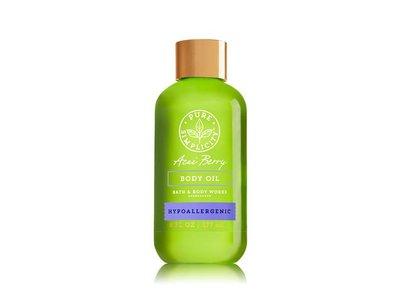 Bath & Body Works Body Oil, Acai Berry, 6 fl oz - Image 1