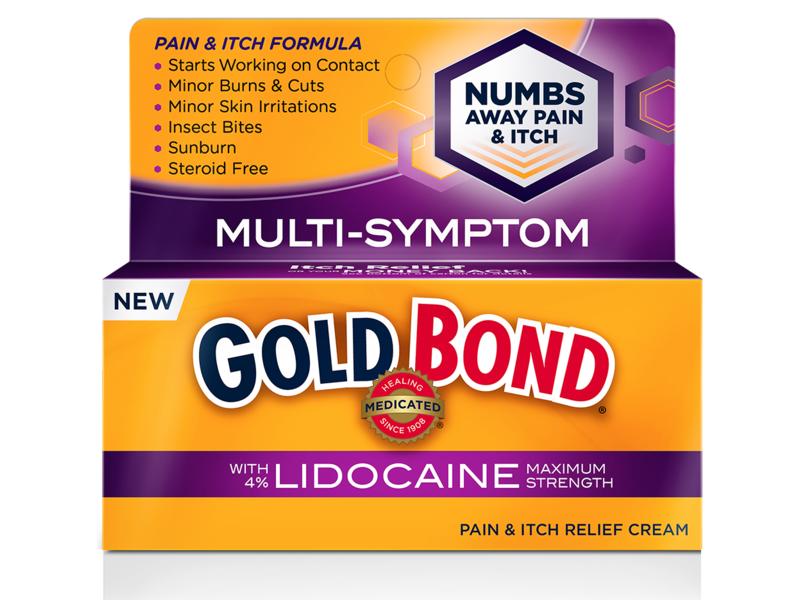 Gold Bond Pain & Itch Relief Cream W/Lidocaine, 1.75oz