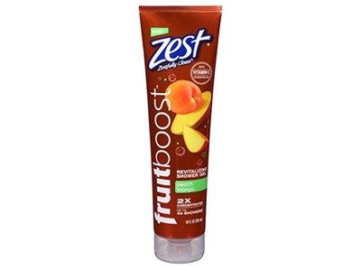 Zest Fruit Boost Revitalizing Shower Gel, 10 oz